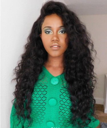 Loose Wave Lace Front Human Hair Wigs For Black Women 250% Density Wigs
