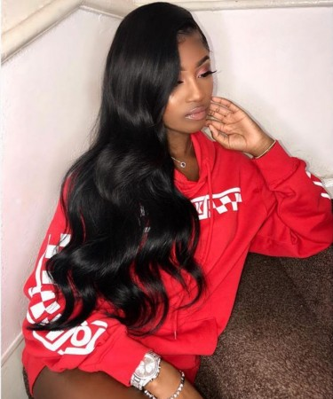 200% Density Body Wave Lace Closure Wig Most Favorable Human Hair Wigs