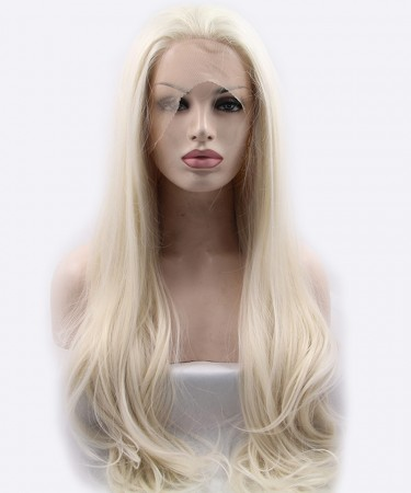 Light Blonde Straight Synthetic Wig