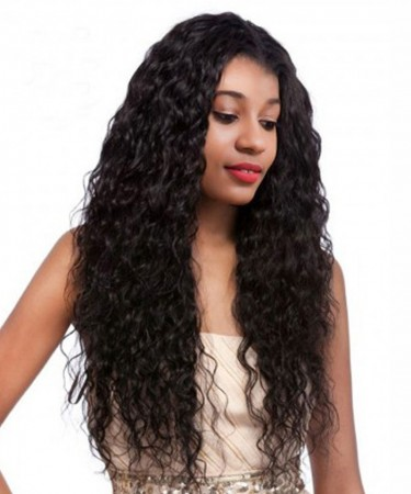 Brazilian Curly Wig Bleached Knots 130% Density Full Lace Wigs With Baby Hair Pre Plucked