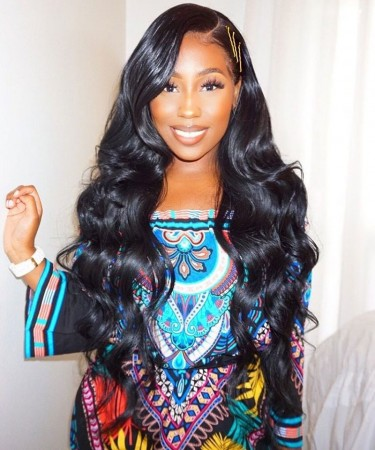 Msbuy Glue Needed Body Wave Full Lace Human Hair Wig No Combs No Straps Full Lace Wigs For Black Women With Baby Hair