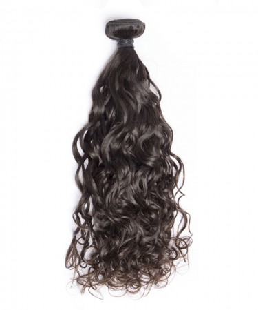 1 Piece Water Wave Brazilian Hair Bundles Cutile Kept Remy Hair Weaves