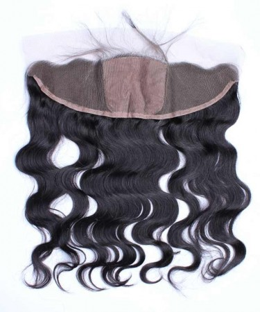 Body Wave 13x4 Lace Frontal Closure With 4x4 Silk Base Natural Scalp