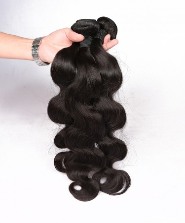 Brazilian Virgin Hair Body Wave 2 Pcs 100% Unprocessed Human Hair Extensions