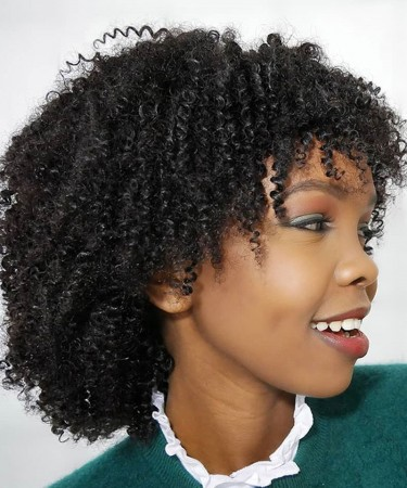 "Bob Wig Brazilian Kinky Curly Short Wig 10'' 12'' 14""Can Be Dyed Full 250g 100% Remy Human Hair Wigs Natural Black Color"