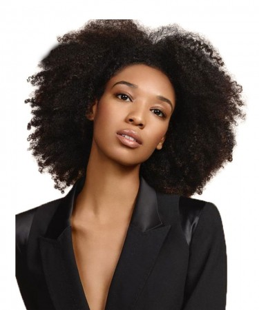 SALE! Mongolian Afro Kinky Curly Wig Full Lace Human Hair Wigs Pre-Plucked 130% Density Remy Wig
