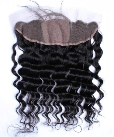 Loose Wave 13x4 Lace Frontal Closure With 4x4 Silk Base Natural Looking