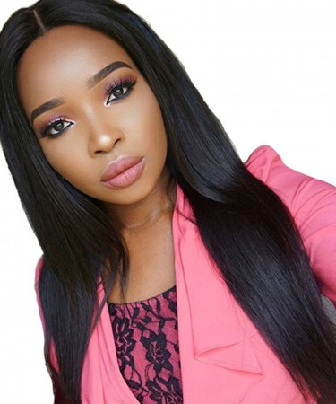 SALE! Silky Straight 13x4 Lace Front Human Hair Wigs 180% Density