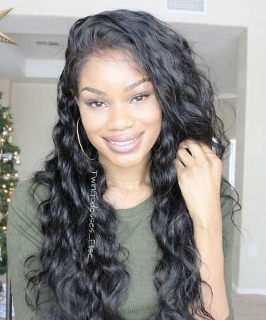 Body Wave Lace Front Human Hair Wigs 250% High Density Lace Wigs