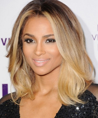 Brown&Light Blonde Ombre Hair Style