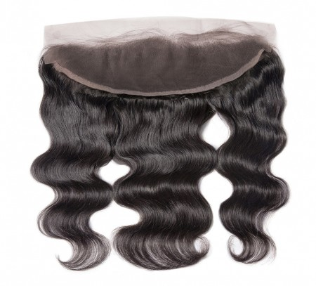 Lace Frontal Closure Brazilian Body Wave 13x4 Lace Frontal Bleached Knots
