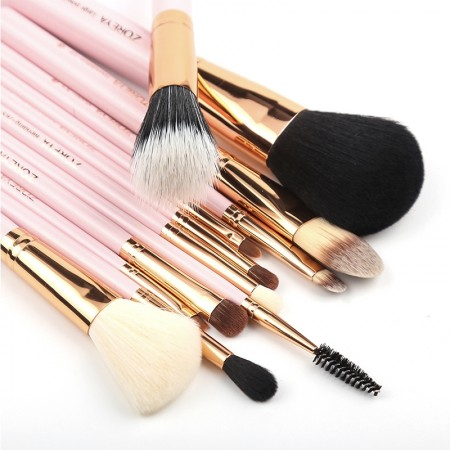 Professional 12pcs Makeup Brush Set High Quality Powder Foundation Eye Shader Make Up Tools For Classic