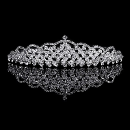 2018 Wedding Crown Headband Tiaras for Women Crystal Wedding Hair Accessories Fashion jewelry