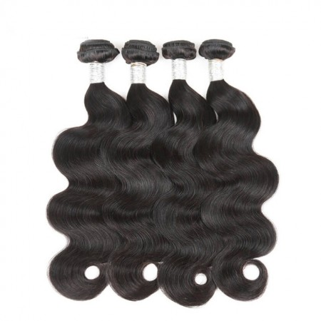 Brazilian Virgin Hair Body Wave 4 Pcs 100% Unprocessed Human Hair Weave