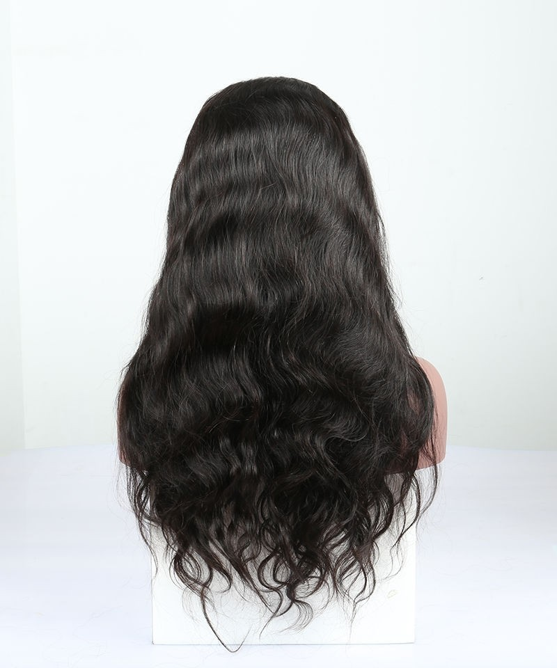 Glue Needed Body Wave Full Lace Human Hair Wig No Combs No Straps