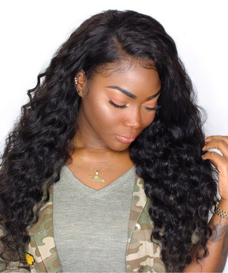 Peruvian Loose Wave Non Remy Human Hair Extension 3pcs 100 Hair