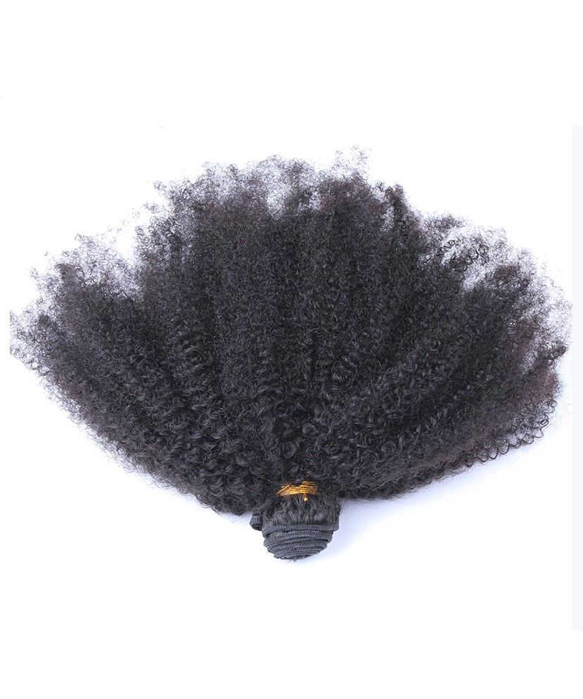 Afro kinky curly virgin hair weave double weft human hair 3 afro kinky curly virgin hair weave double weft human hair 3 bundles geenschuldenfo Choice Image