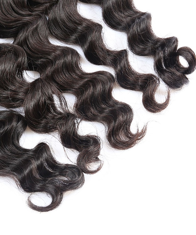 Loose Wave 3 Pcs 100 Unprocessed Hair Extensions Human Hair Weave