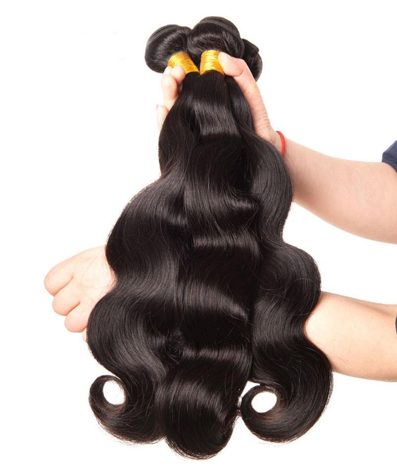 Brazilian Virgin Hair Body Wave Bundles 1 Piece Unprocessed Human