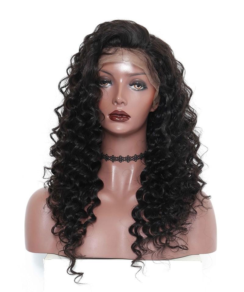 Silk Base Wigs Natural Scalp Loose Wave Full Lace Human