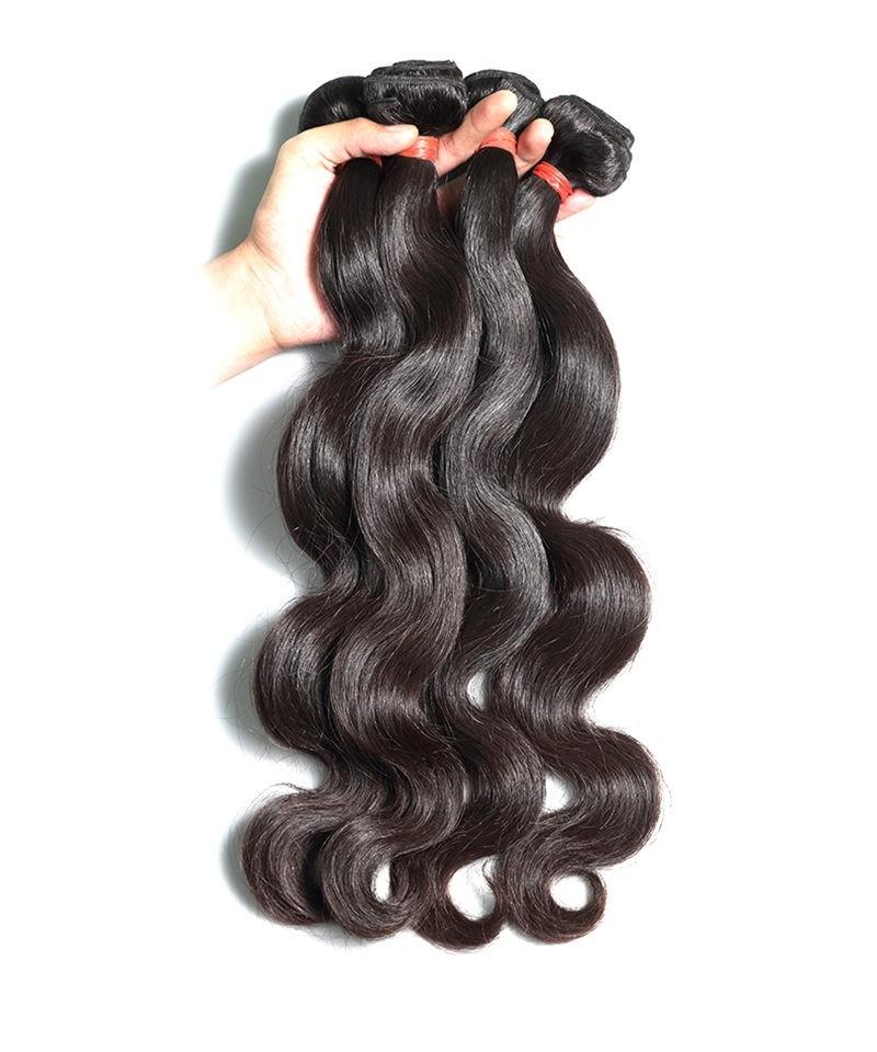Brazilian Virgin Hair Body Wave 3 Pcs 100 Unprocessed Human Hair