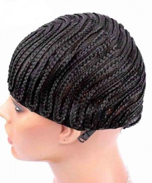 Cornrows Wig Cap With Adjustable Strap Easier To Sew In For Loss Hair