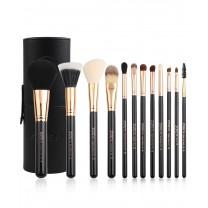 Professional 15pcs Makeup Brush Set High Quality Powder Foundation Eye Shader Make Up Tools For Classic