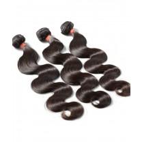 Brazilian Virgin Hair Body Wave 3 Pcs 100% Unprocessed Human Hair Weave