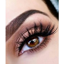 One  Pair Beauty mink eyelashes 5D MINK False Eyelashes Messy Cross Dramatic Fake Eye Lashes Professional Makeup Lashes