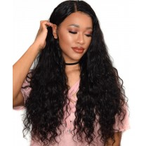 Loose Wave 360 Lace Wigs Pre Plucked Brazilian Lace Wigs 150% Density