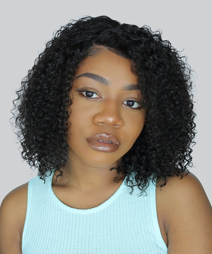Lace Front Human Hair Wigs Natural Hair Style Human Hair Wigs 150 Density Wigs No Shedding Msbuy Com