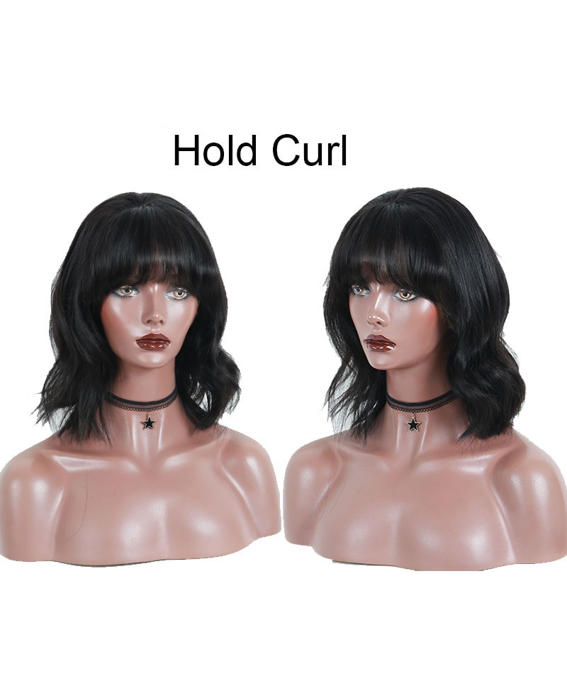 straight bob wig with bang