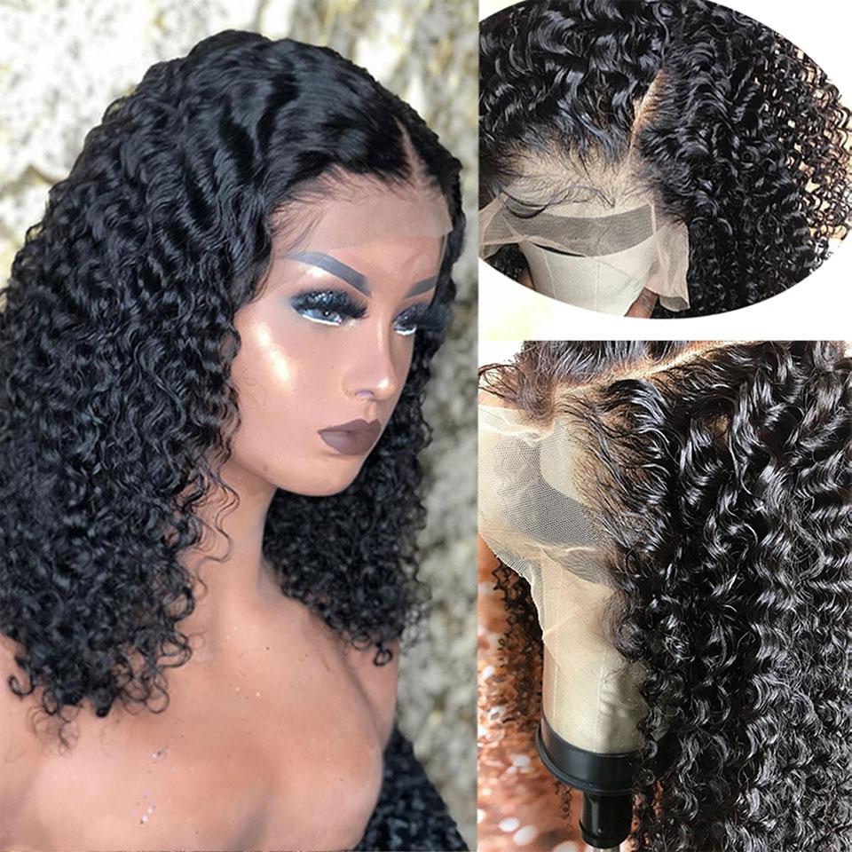 curly bob lace wig