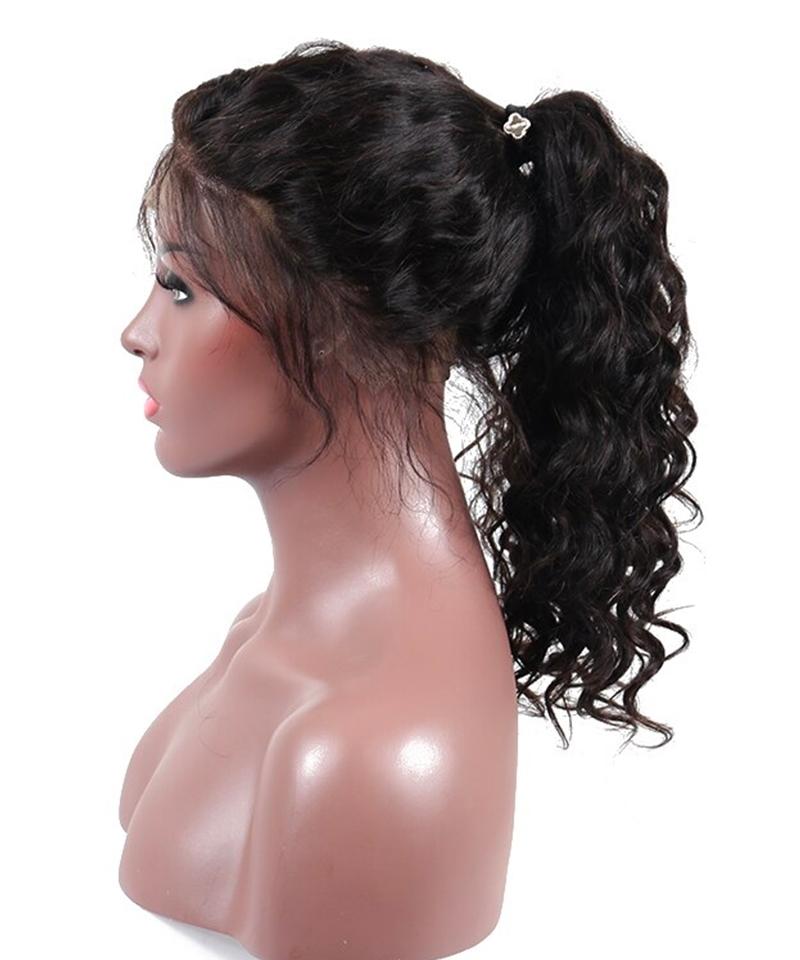 human hair wigs loose wave