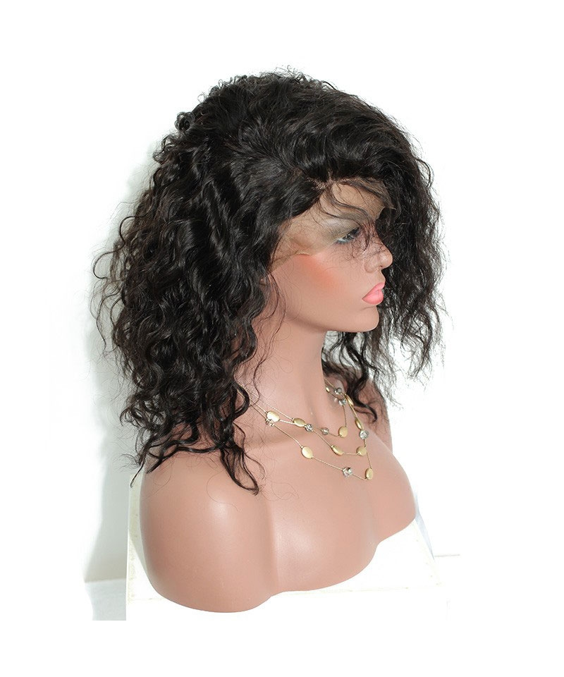 wavy human hair wigs
