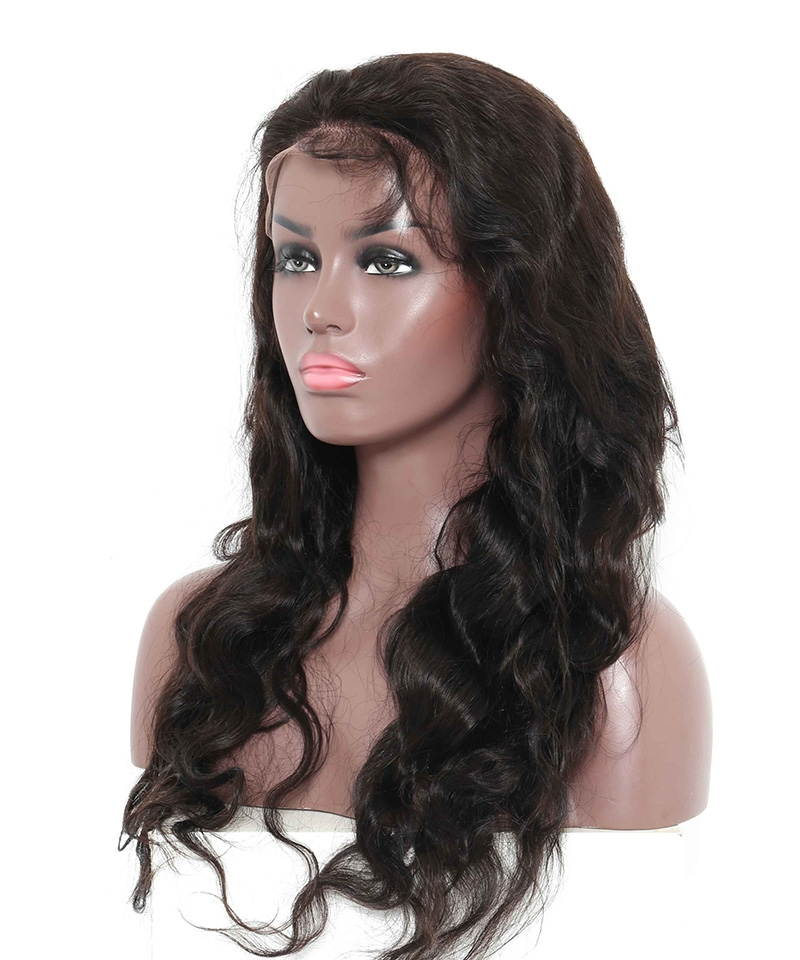 professional hair style for 20 inch wave lace front human hair wigs 250 high 8715