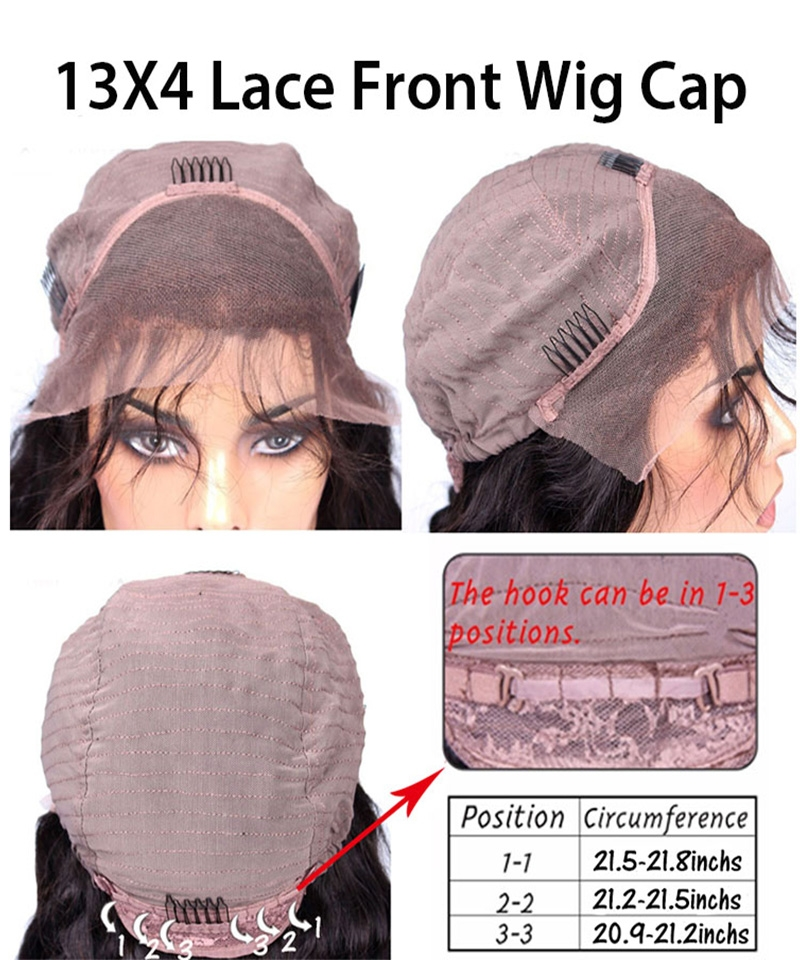 lace wig cap for the color 27 loose wave