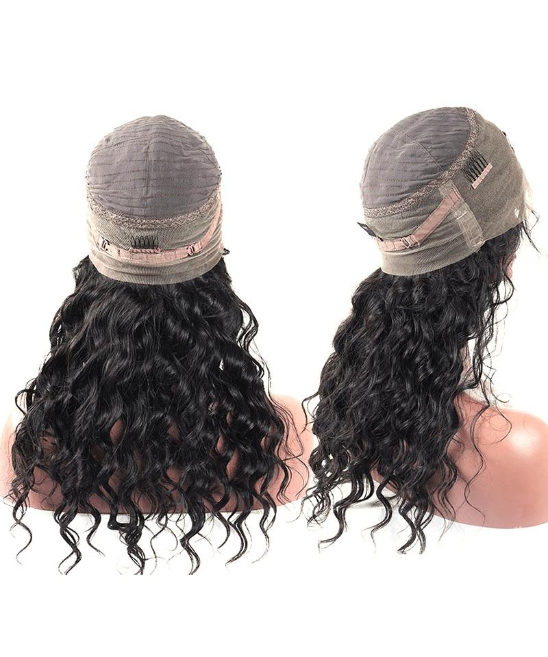 lace wig cap loose wave 360