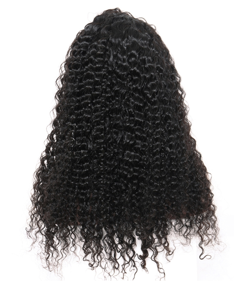 kinky Straight hair wigs with baby hair