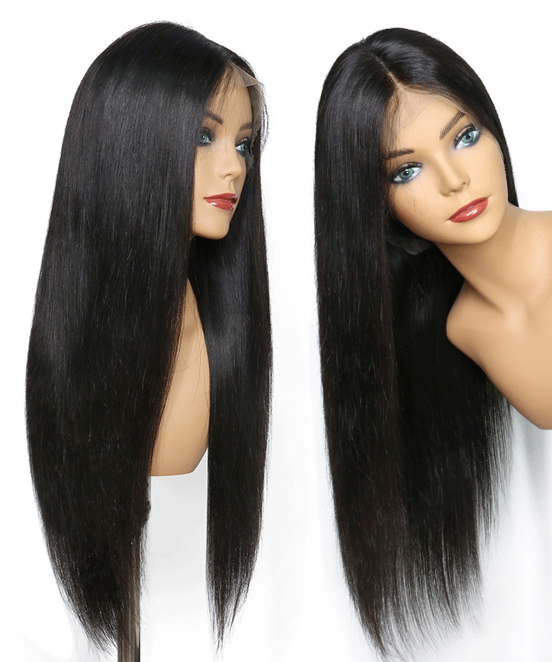 full lace wig straight wave for women