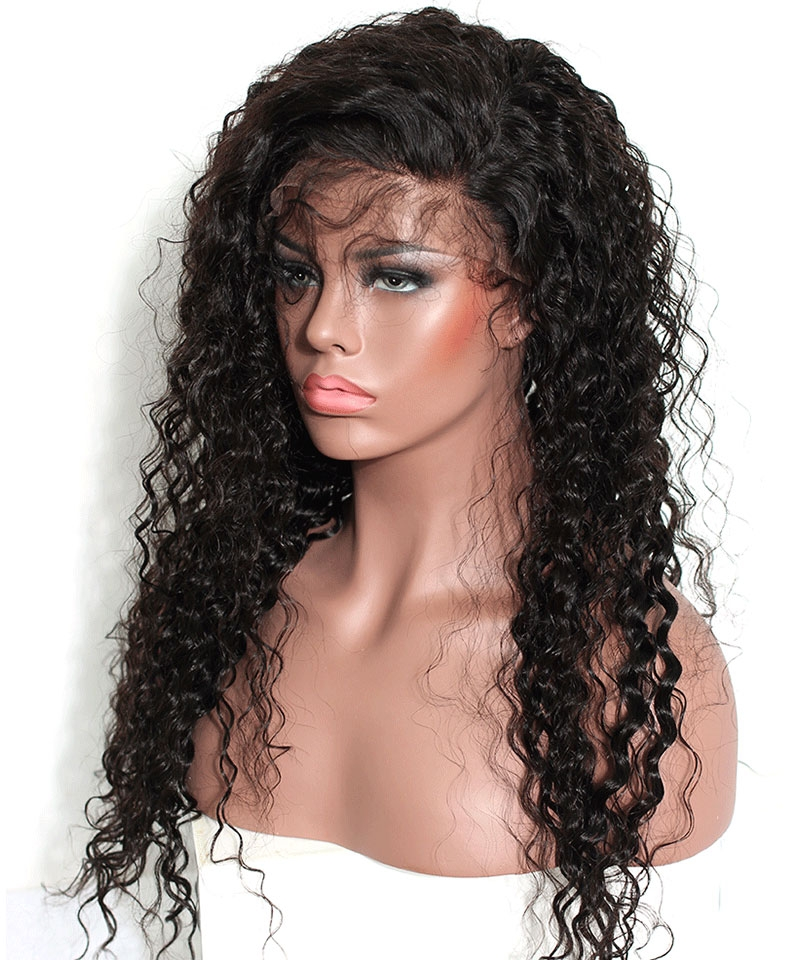 loose curly 360 lace wigs 1