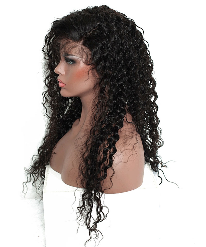 loose curly 360 lace wigs 52