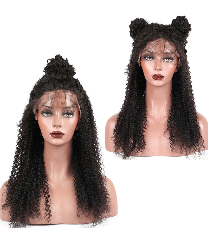 kinky curly lace wig for women